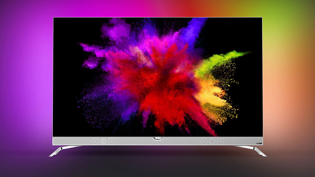 Philips 901-F 4K OLED TV with Ambilight. Picture: Philips.