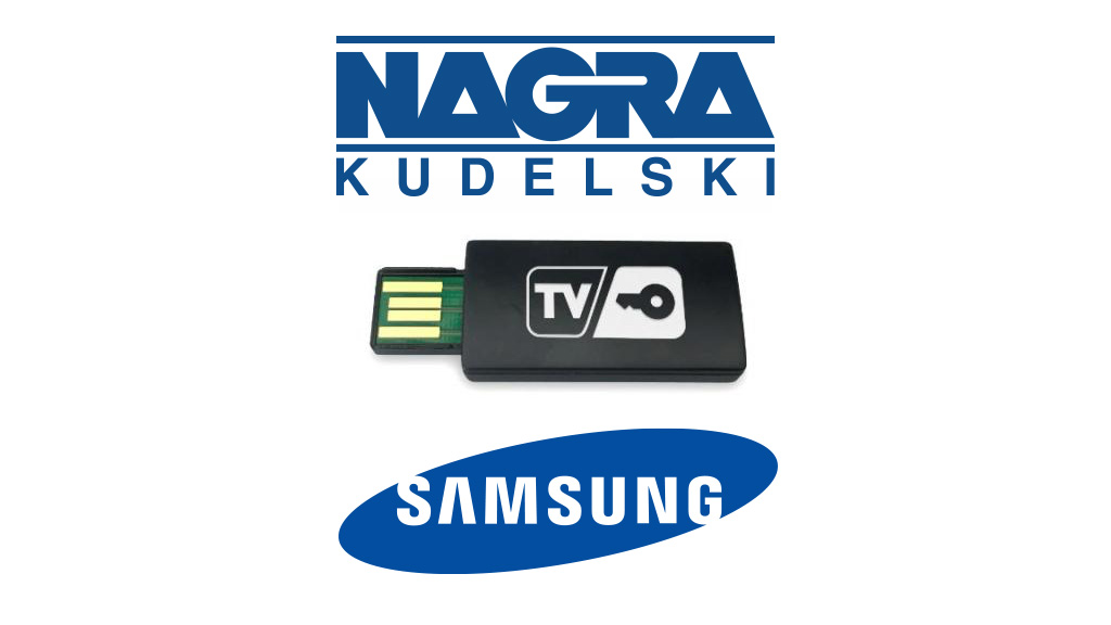 NAGRA and Samsung introduce TVkey.