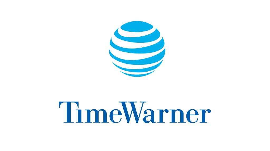 AT&T and TimeWarner logos.