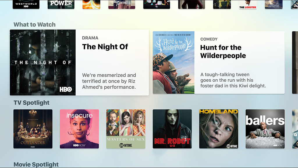Apple TV app showing recommended shows. Image: Apple.