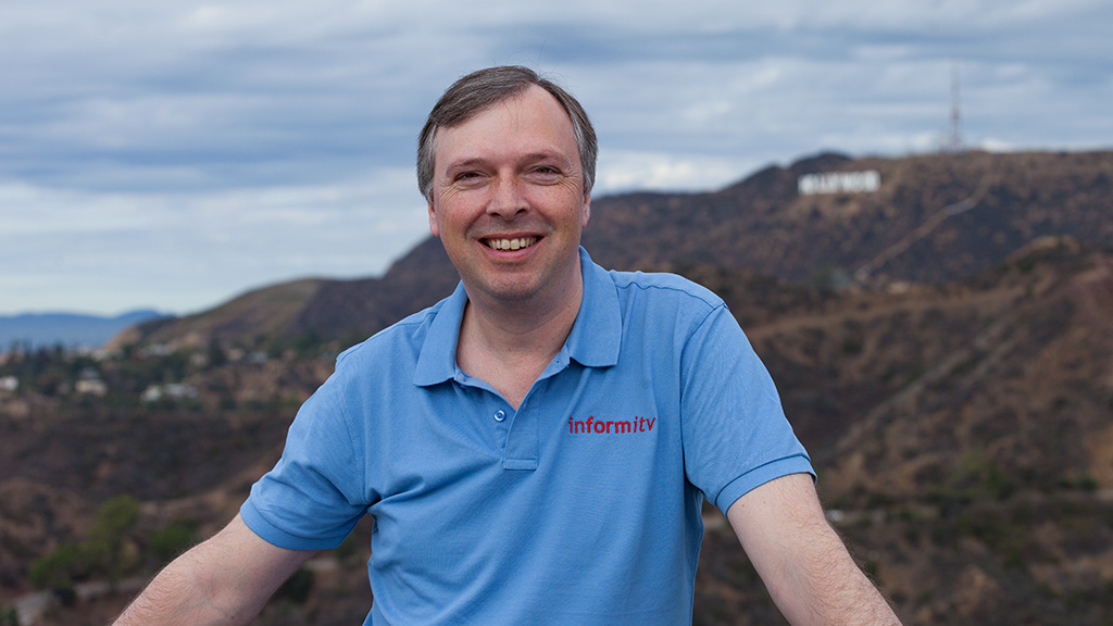 William Cooper, the founder and chief executive of informitv.