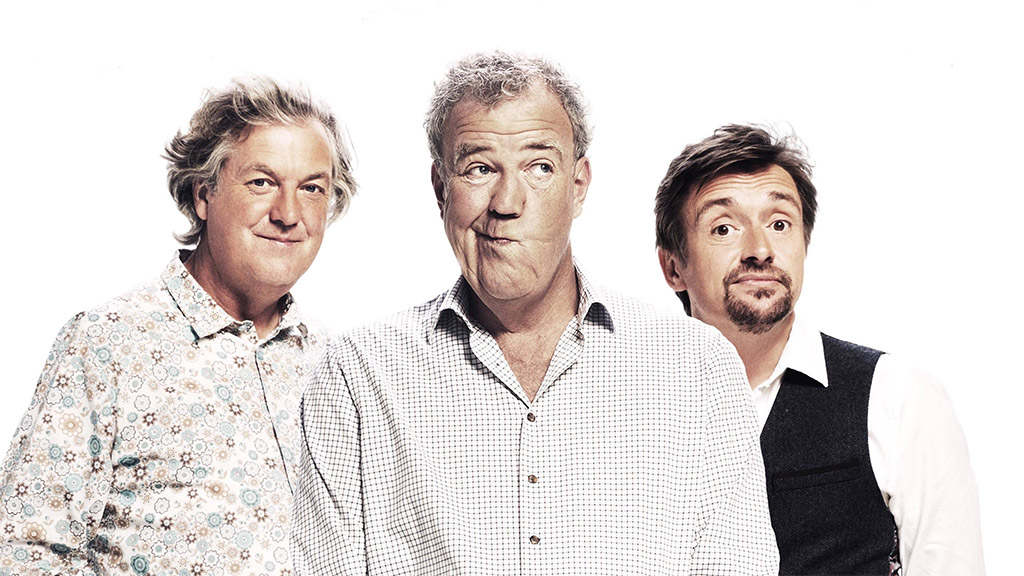 Amazon: The Grand Tour, featuring James May, Jeremy Clarkson and Richard Hammond. Photo: Amazon.