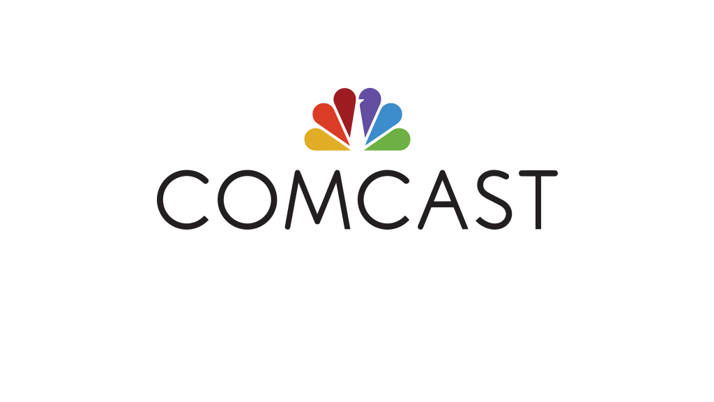 Comcast logo.