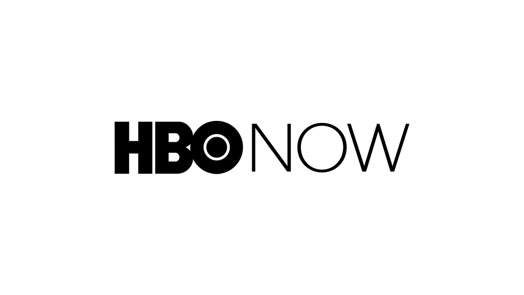 HBO NOW logo. Home Box Office. A Time Warner company.