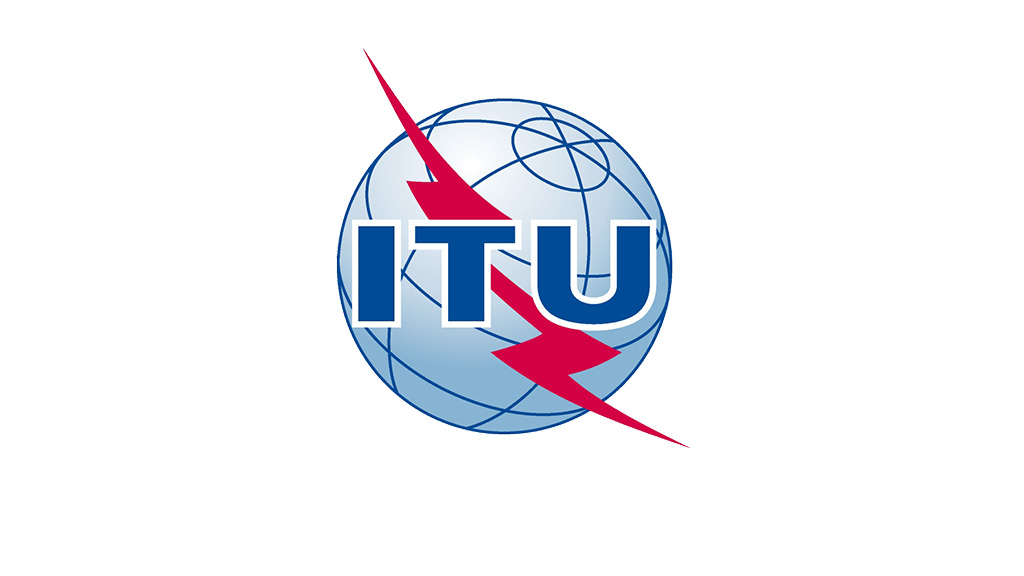 ITU logo. International Telecommunications Union.