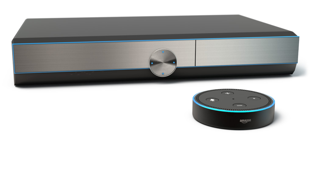 YouView will offer integration with Amazon Alexa voice control.