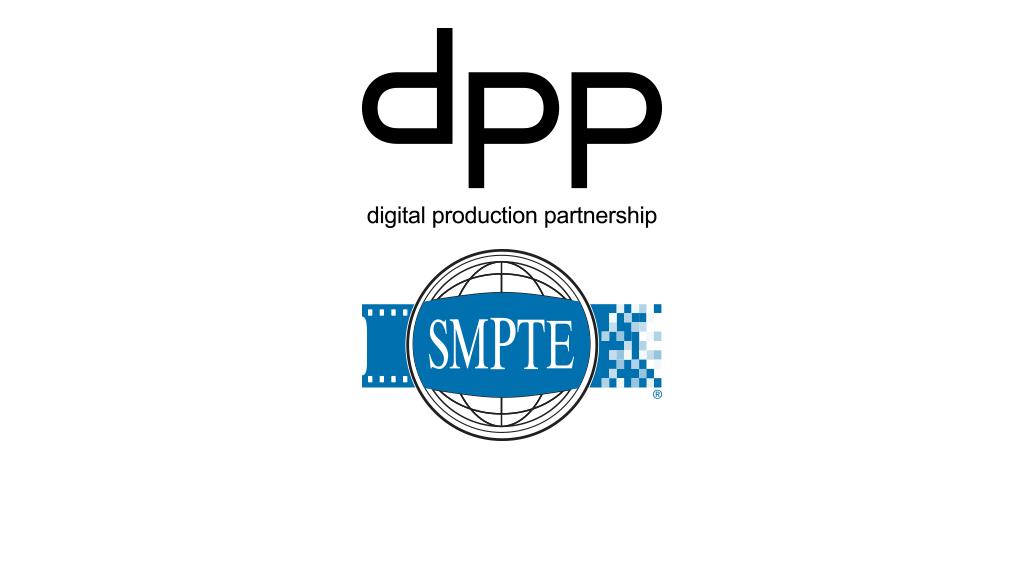 DPP and SMPTE logos.
