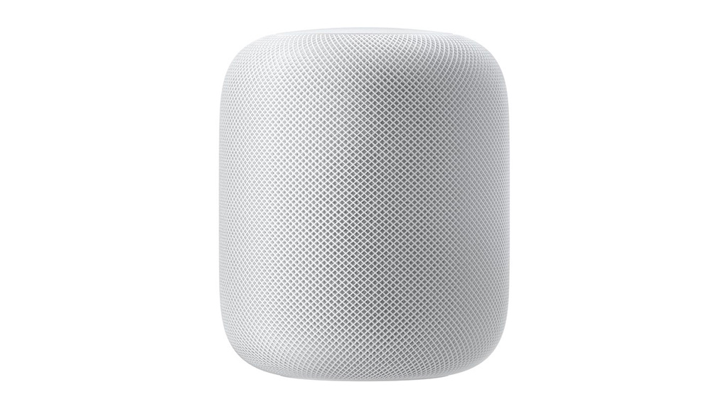 Apple HomePod smart speaker with Siri.