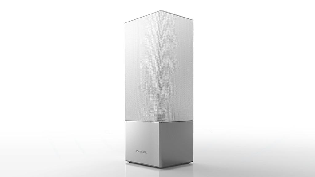 Panasonic GA10 smart speaker with Google Assistant.