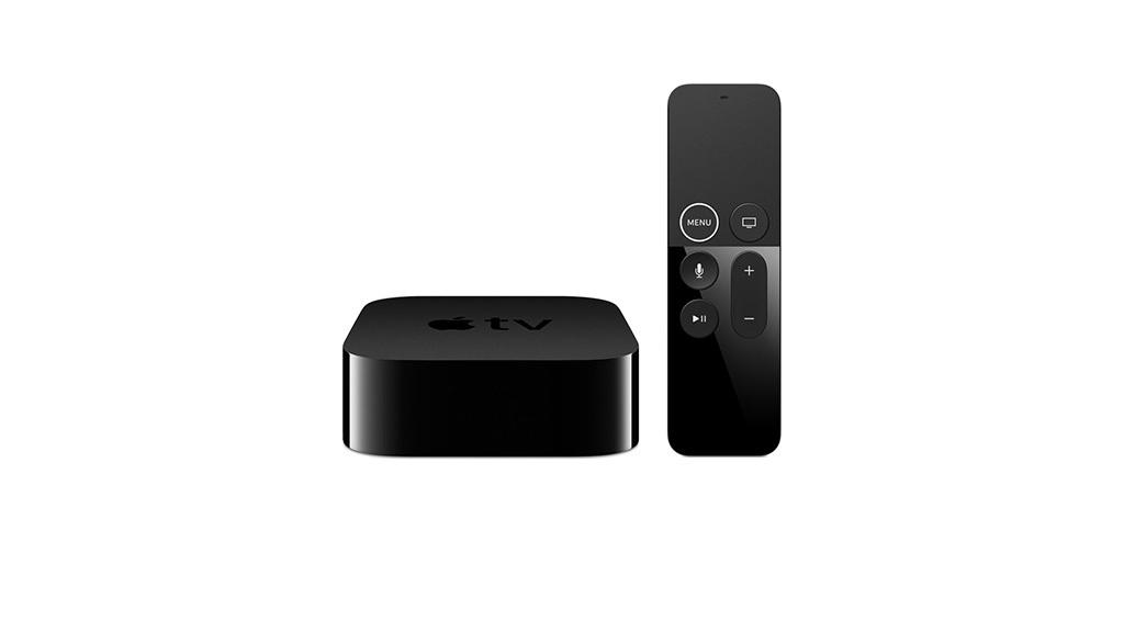 Apple TV, fifth generation media player. Image: Apple.
