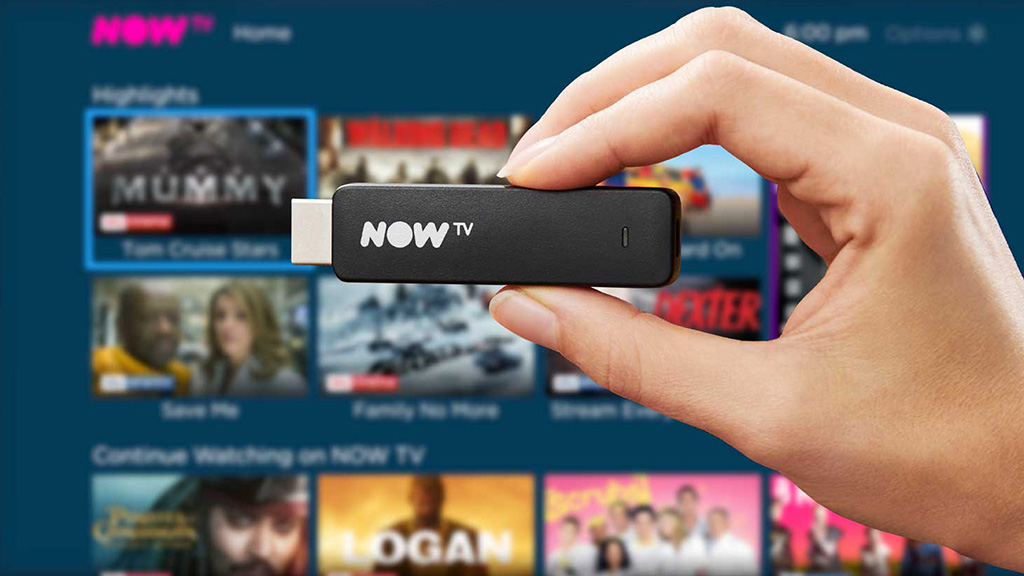 NOW TV Streaming Stick. Image: Sky