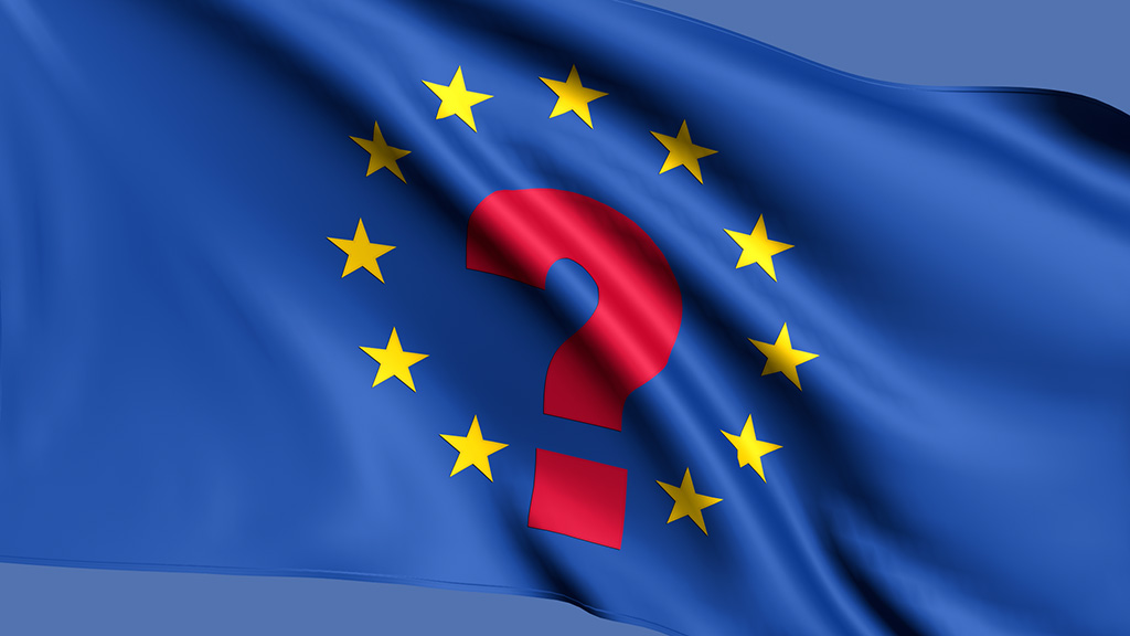 European Union flag question.