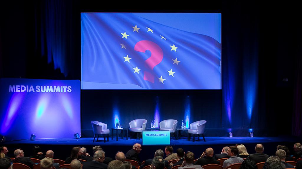 Media Summits stage