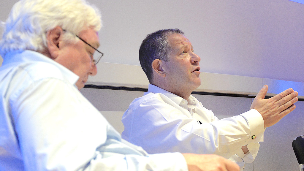 Media Summits: David Docherty, Digital Television Group; John Kampfner, Creative Industries Federation