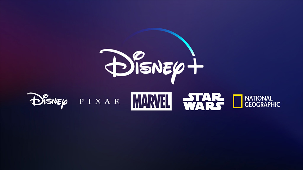 Disney+ brands - Disney, Pixar, Marvel, Star Wars, National Geographic