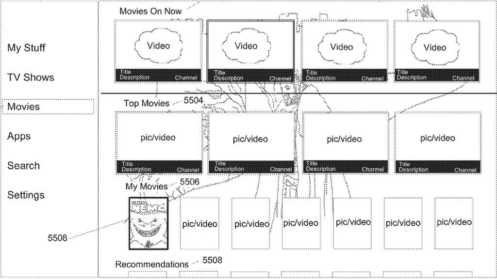Apple US Patent 10,200,761, Figure 55