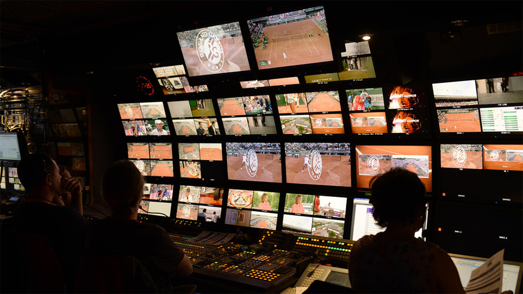 Production gallery for the French Open