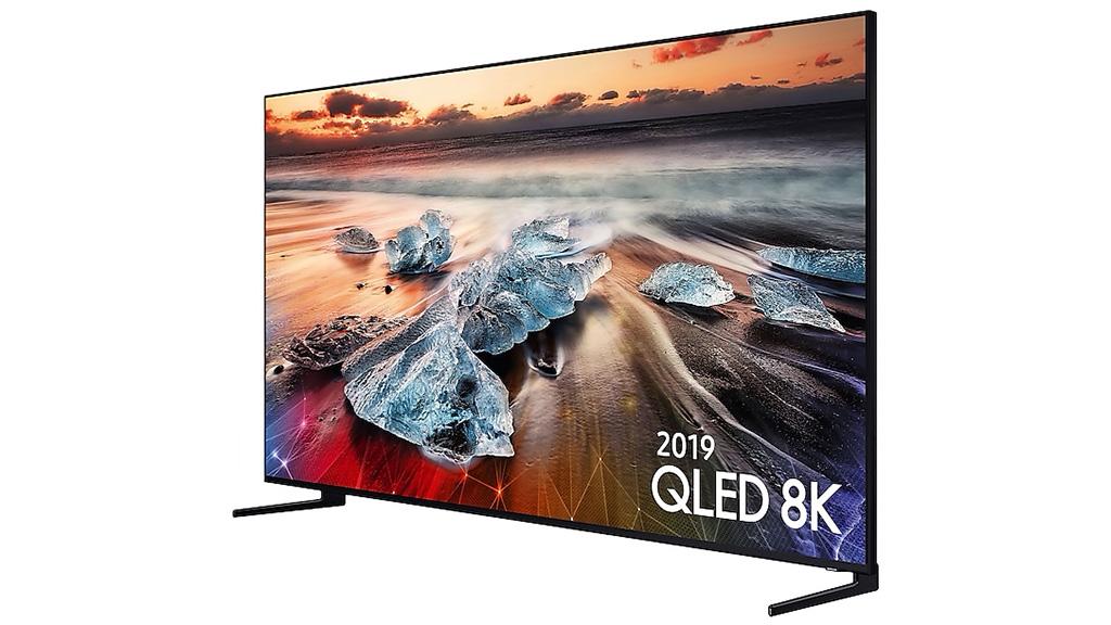 Samsung Q950R 8K display