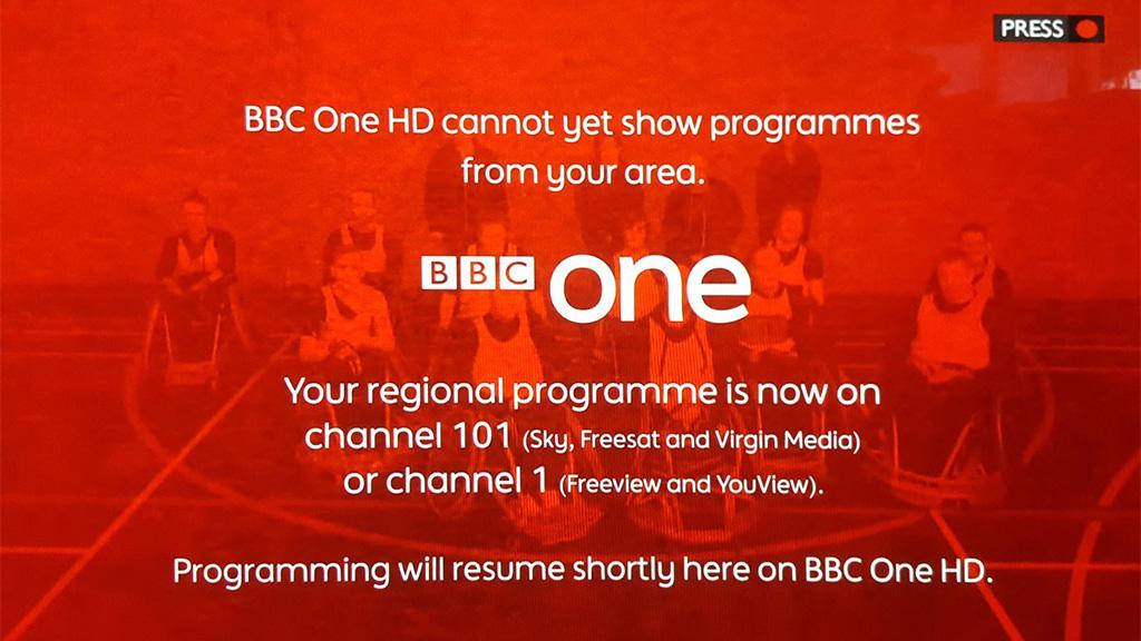 BBC regional news break | informitv
