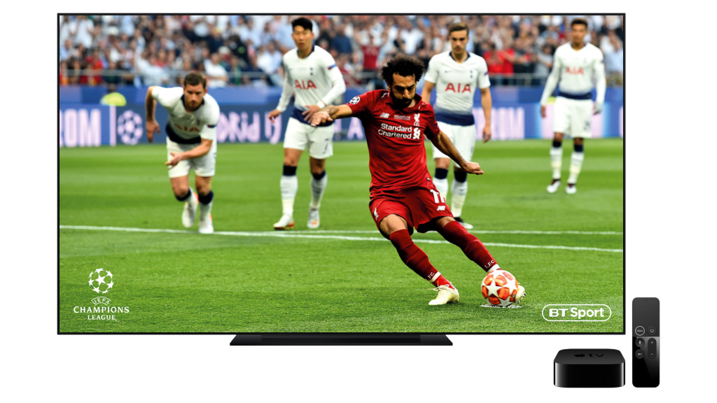 EE bundline BT Sport and Apple TV