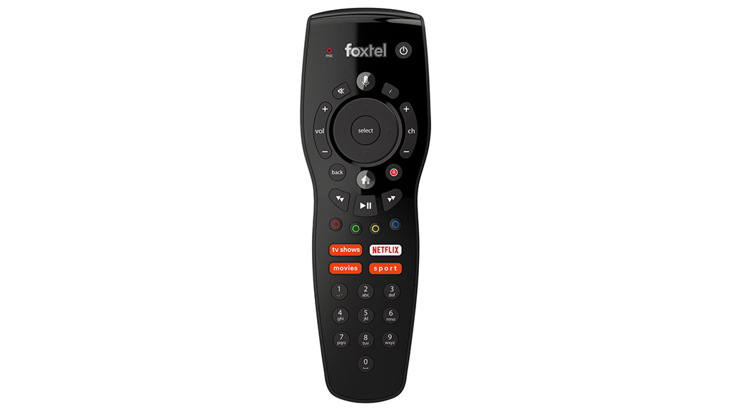 Foxtel remote with Netflix button