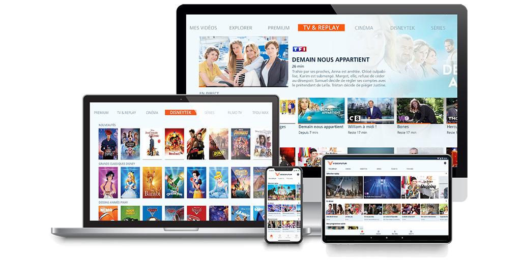 VideoFutur multiscreen app