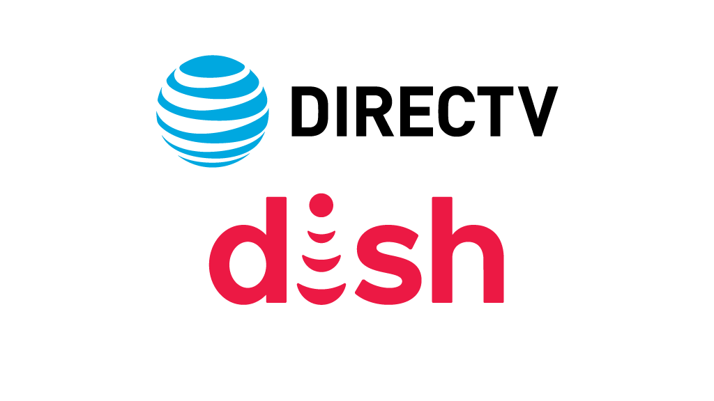 DIRECTV and Dish logos