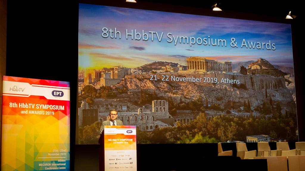HbbTV Sumposium Athens, Vincent Grivet