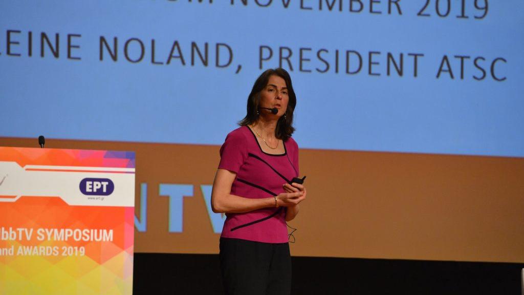 HbbTV Symposium Athens, Madeleine Noland, President, ATSC