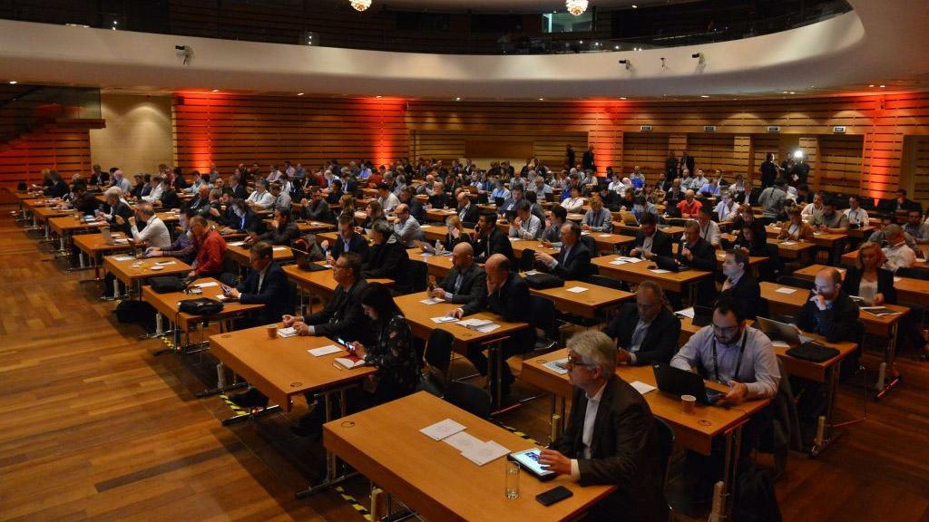 HbbTV Symposium, Athens auditorium