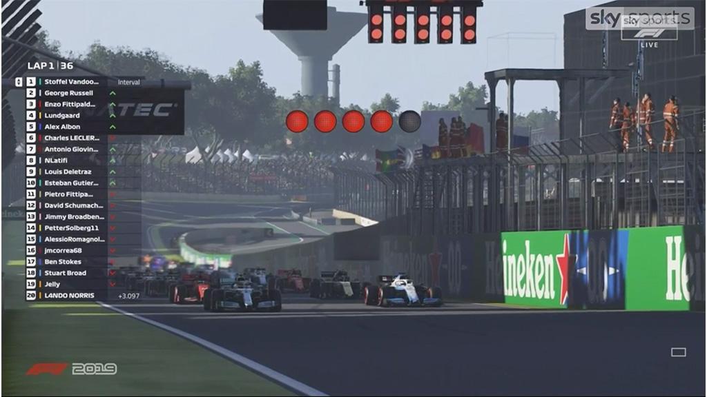 virtual F1 Interlagos