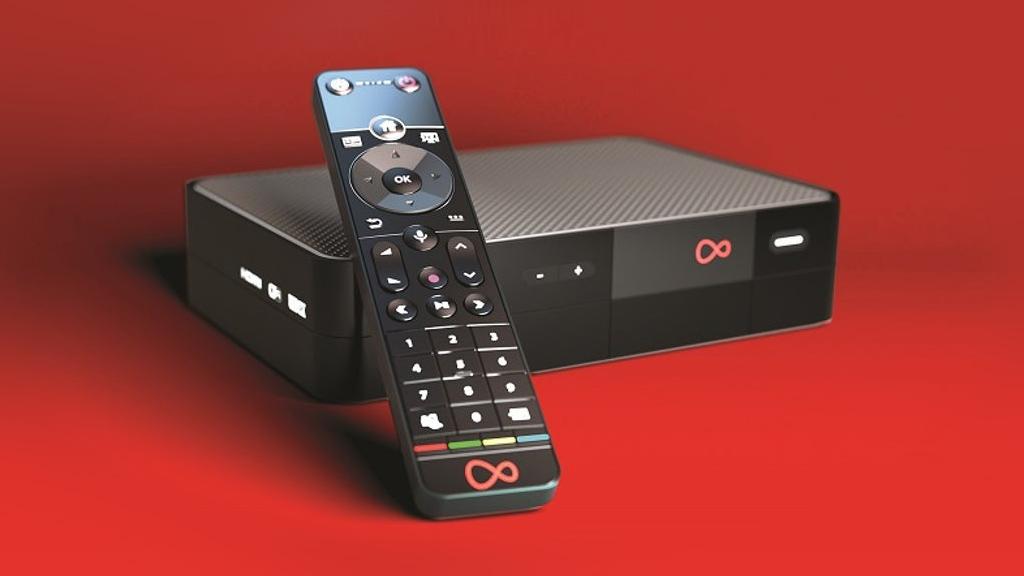 Virgin VTV360 box and remote