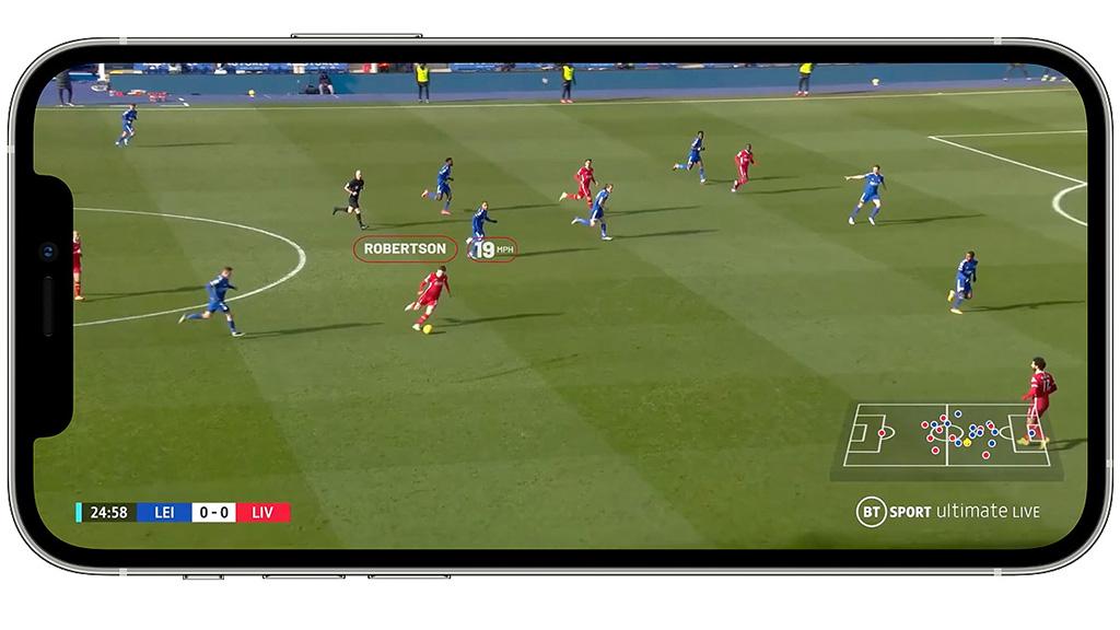 BT Sport Manager view
