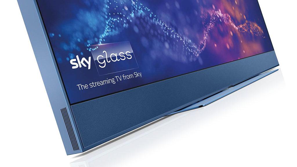 Sky Glass blue detail